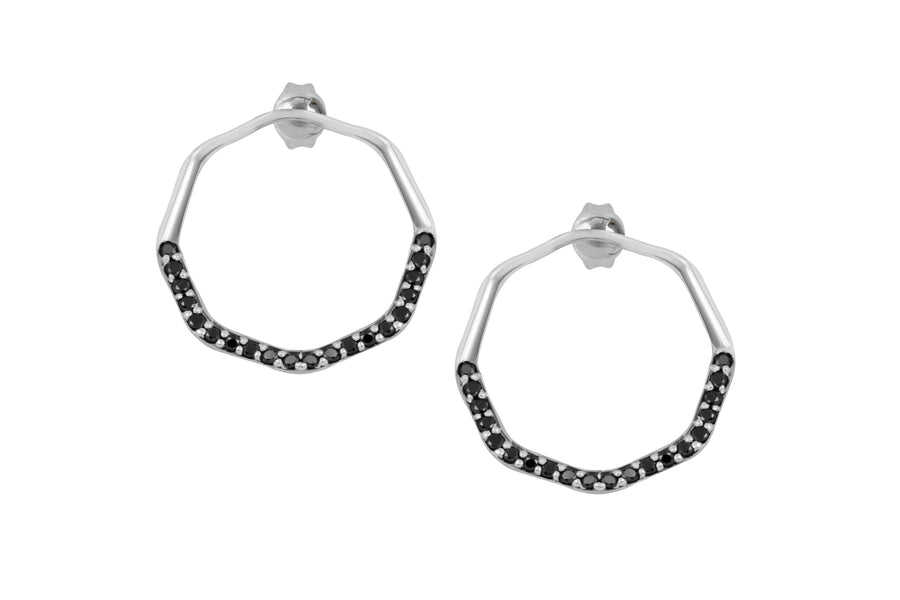 PAVÉ ORBITAL HOOPS