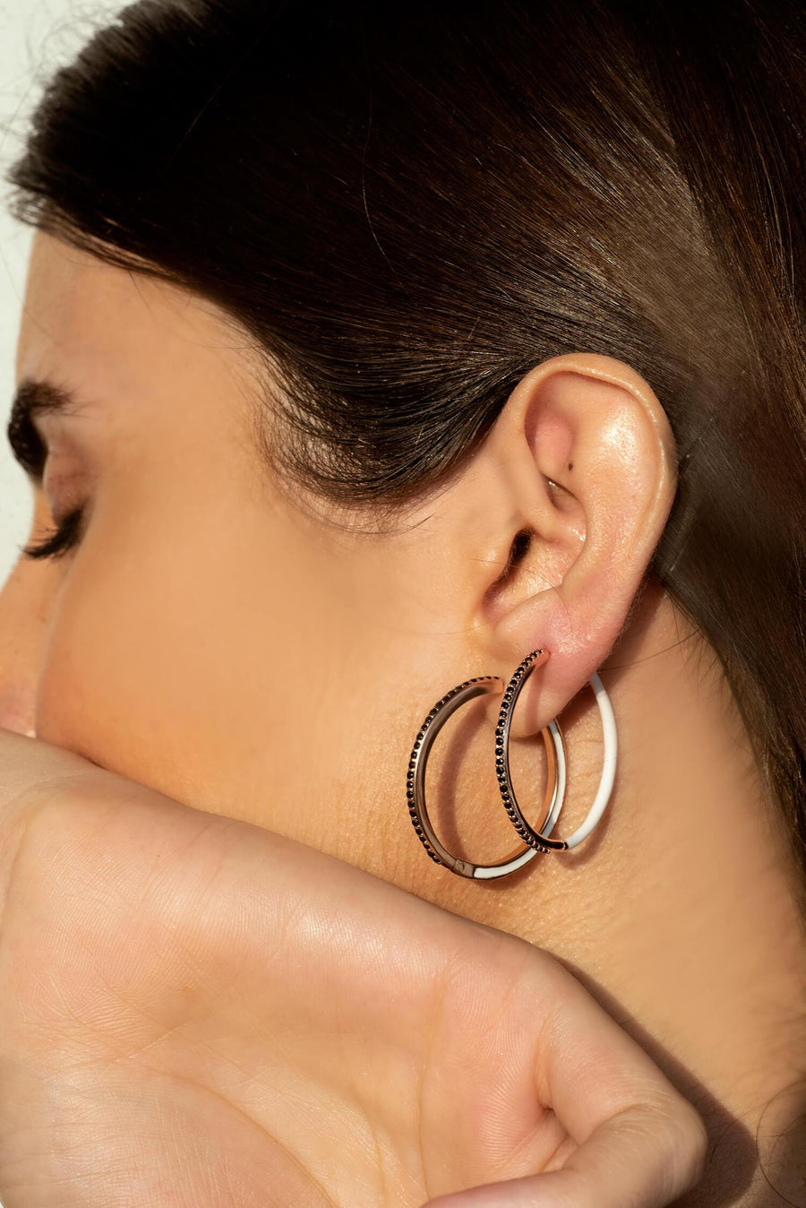 GEM GLAZED ENAMEL HOOPS