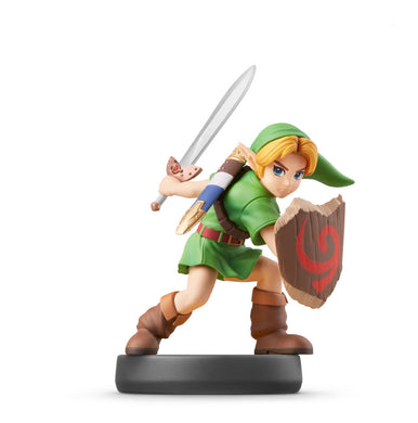 Amiibo Young Link Smash Bros Legend Of Zelda