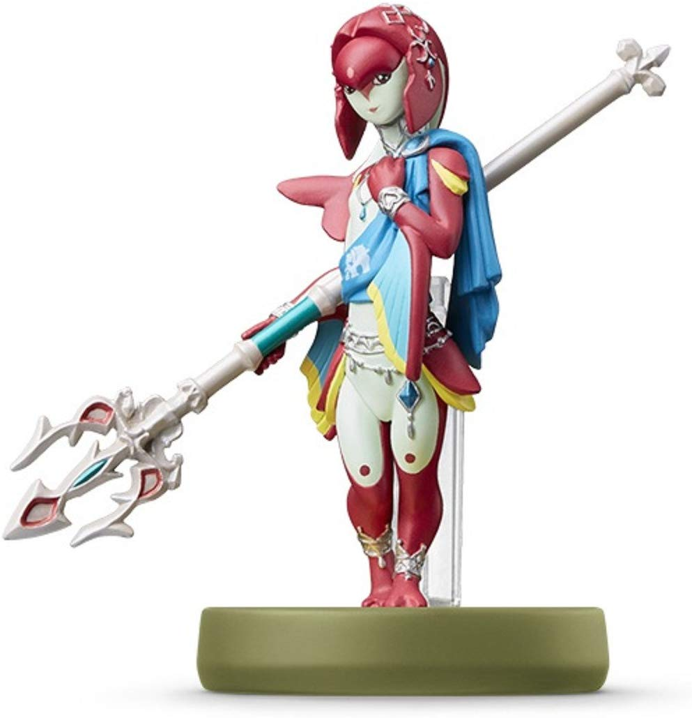 Amiibo Mipha Legend Of Zelda Breath Of The Wild