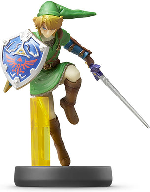 Amiibo Link Smash Bros Legend Of Zelda