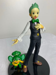 Pokemon partner figure Cilan e Pansage