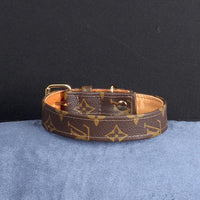 20/24 Handmade Limited Edition Halsband from vintage Louis Vuitton bag - Size 45