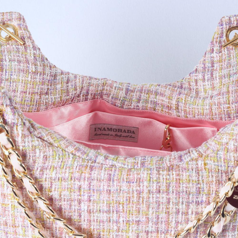 Channel Candy Tas in Rose - Inamorada