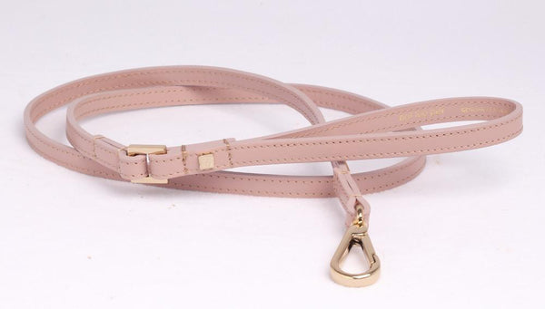 City Riem in Leer Rose met Licht Goud - Not Too Pet