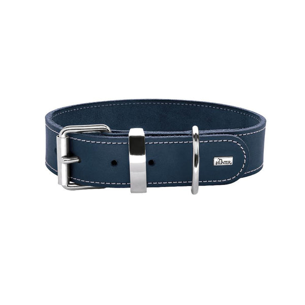 Classy Chique Halsband in Navy Blauw - Hunter