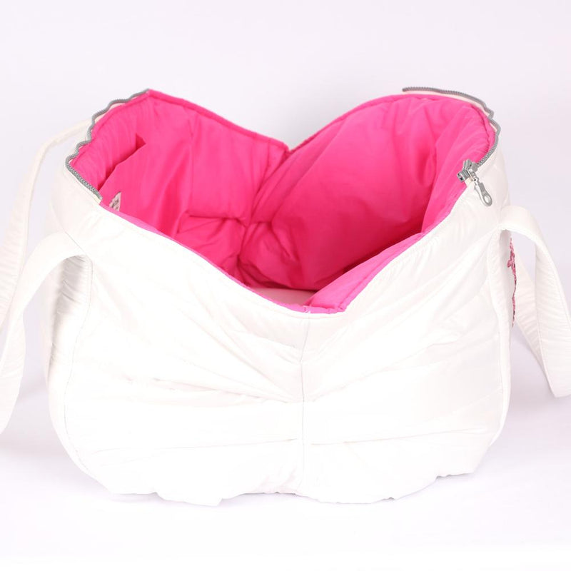 Fluffy LOVE Tas in Wit - Inamorada