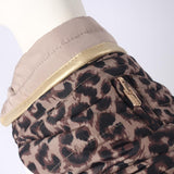 Kalahari Leopard Jas Reversable - Milk & Pepper