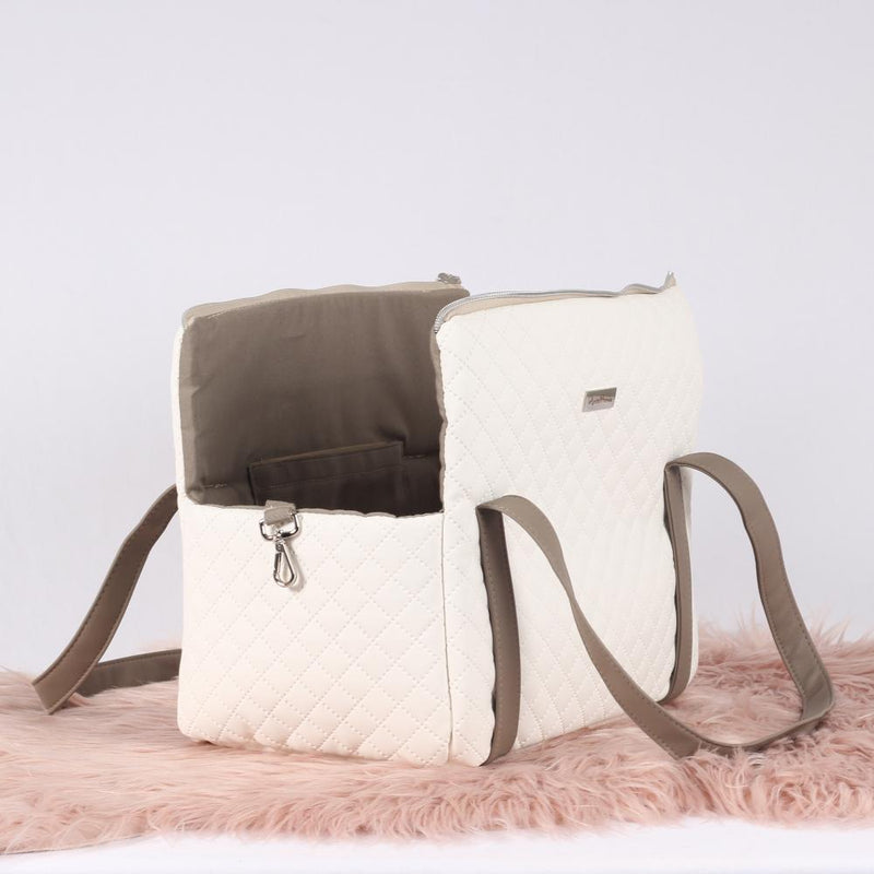 Luxury Style Keeper Tas in White - AntePrima
