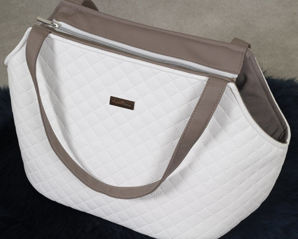 Luxury Style Mylady Tas in White - AntePrima