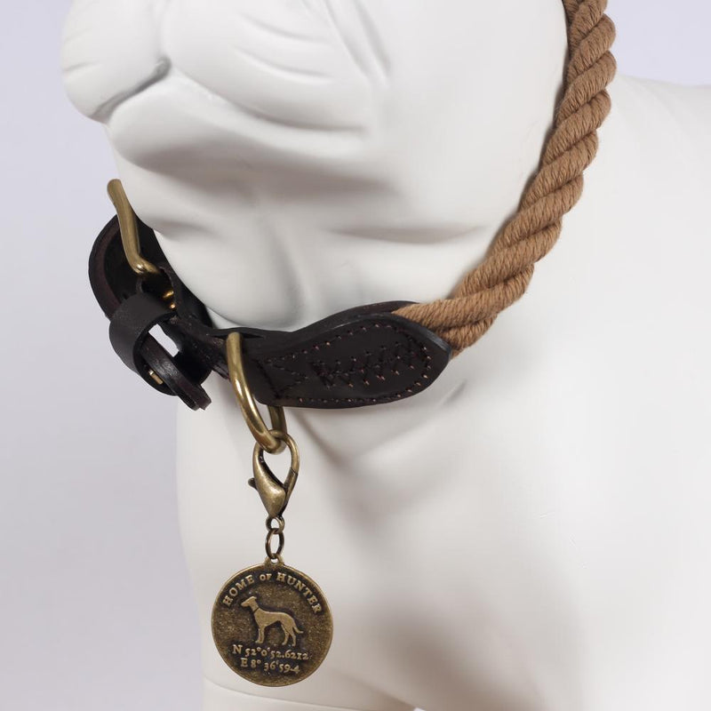 Rope Dope Halsband - Hunter