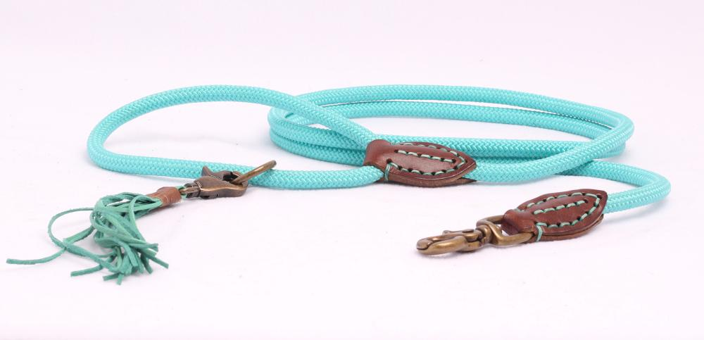 Rope Riem in Turquoise - Dog With a Mission