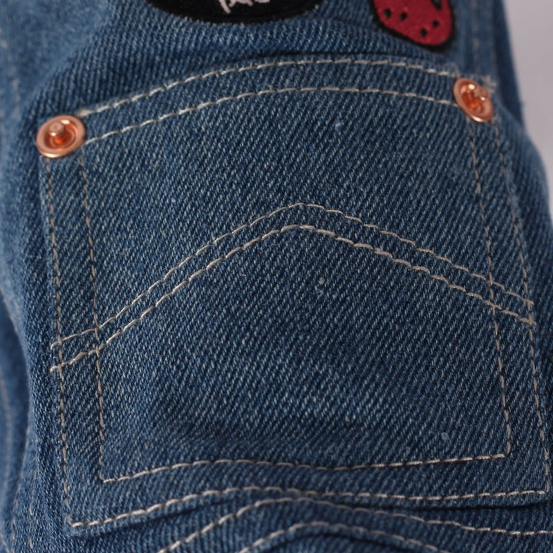 Strawberry Denim Jeans Jas - Milk & Pepper