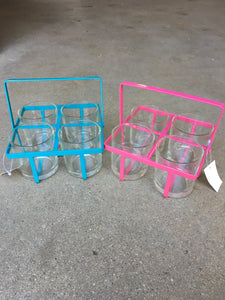 Four Glass Carrier