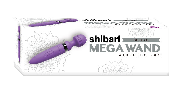 Shibari Deluxe Mega Wireless 28X Purple