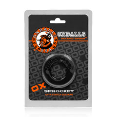 Sprocket Cockring Black