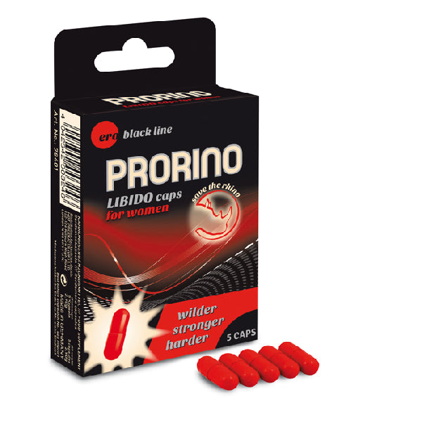 PRORINO Libido Caps For Women 5 pcs