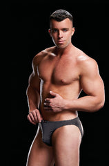 Low Rise Moonshine Brief Grey