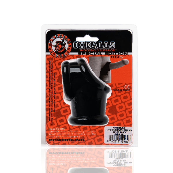 Powersling Cocksling And Ballstretcher Black