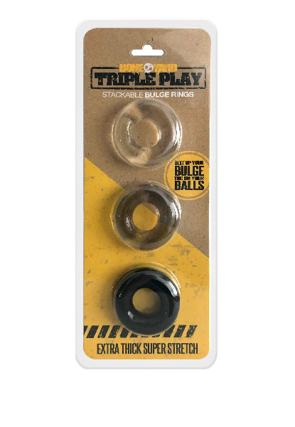 Triple Play Cock Ring