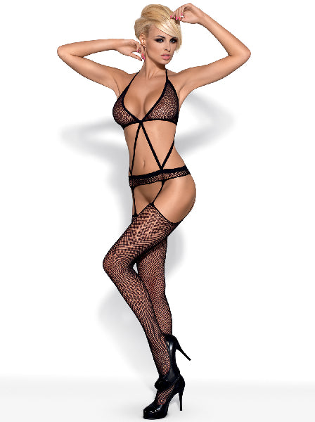 Bodystocking N108 Blk