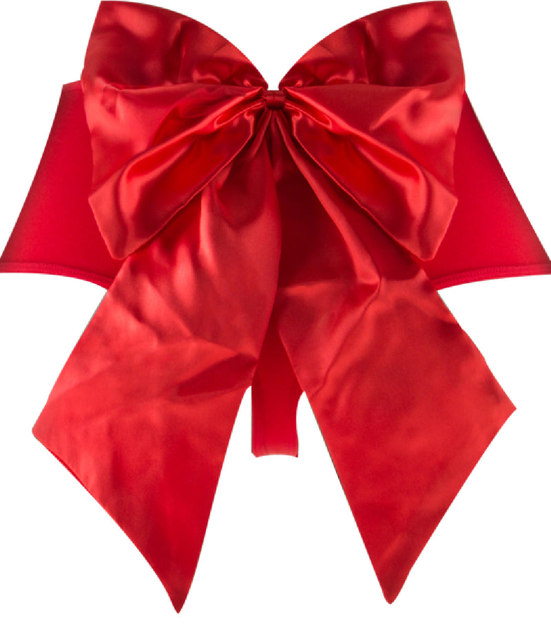 Sexy Bow Vibrating Panty (Red)