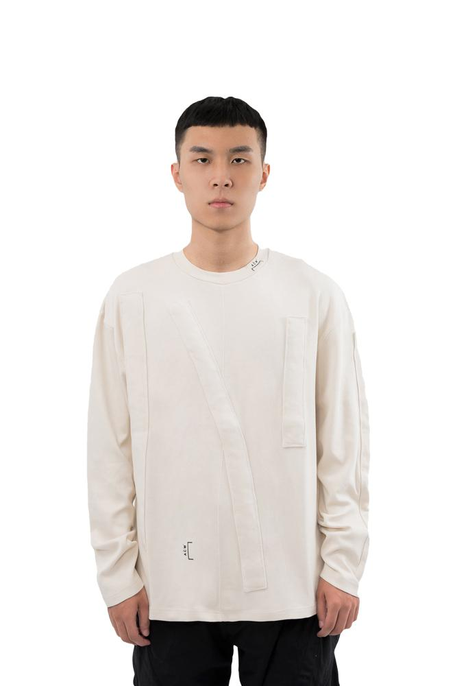 A-COLD-WALL* 3D Tunnel Long Tee White
