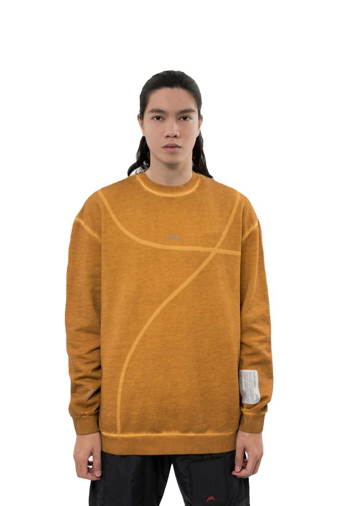 A-COLD-WALL* Classic Flat Overlock Sweater Yellow