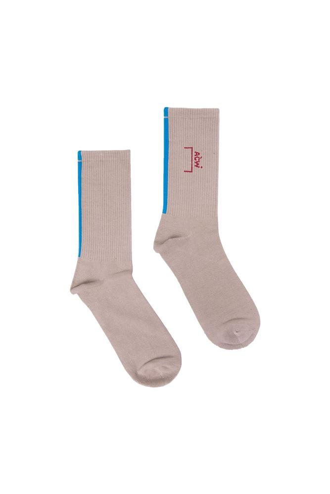 A-COLD-WALL* Core Socks Grey