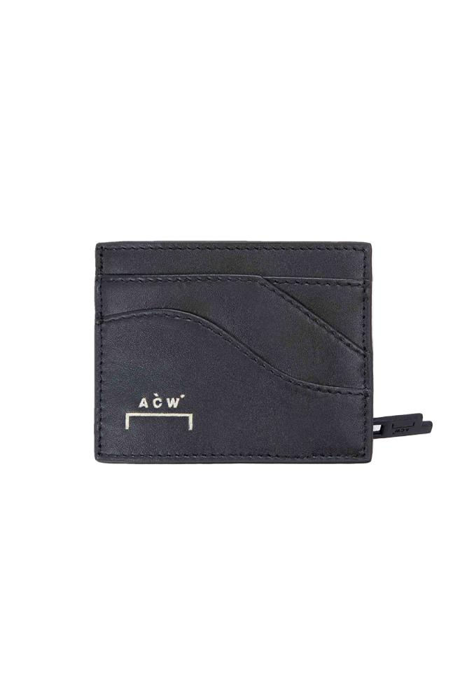 A-COLD-WALL* Curve Leather Pouch Black