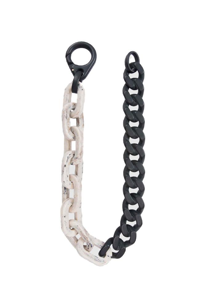 A-COLD-WALL* Duo Necklace Black White