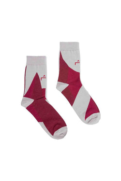 A-COLD-WALL* Geometry Socks Red