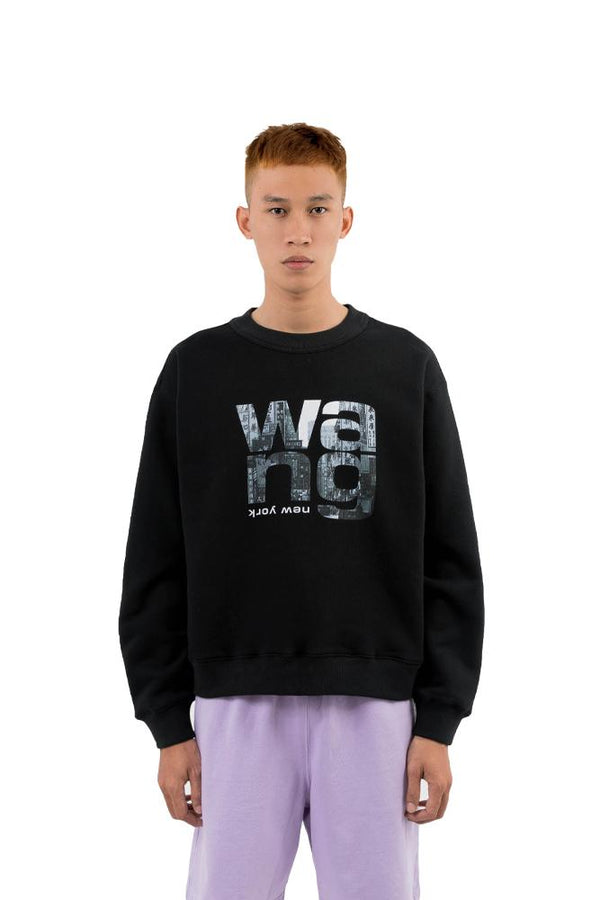 Alexander Wang City Sweatshirt Black