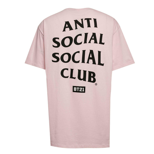 "ASSC Anti Social Social Club CATCHEM ""A"" Print Tee Pink"