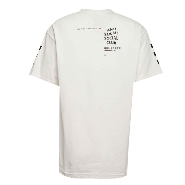 ASSC Anti Social Social Club Concrete Jungle Racing Team Tee White