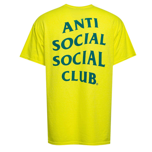 ASSC Anti Social Social Club Modena Tee Yellow