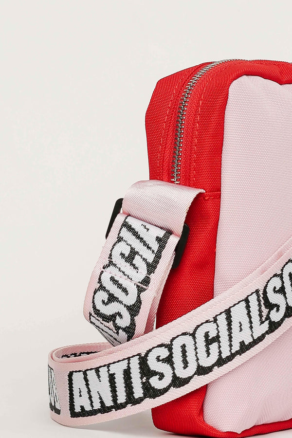 ASSC Anti Social Social Club Shoulder Bag Red