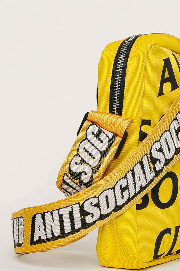ASSC Anti Social Social Club Shoulder Bag Yellow