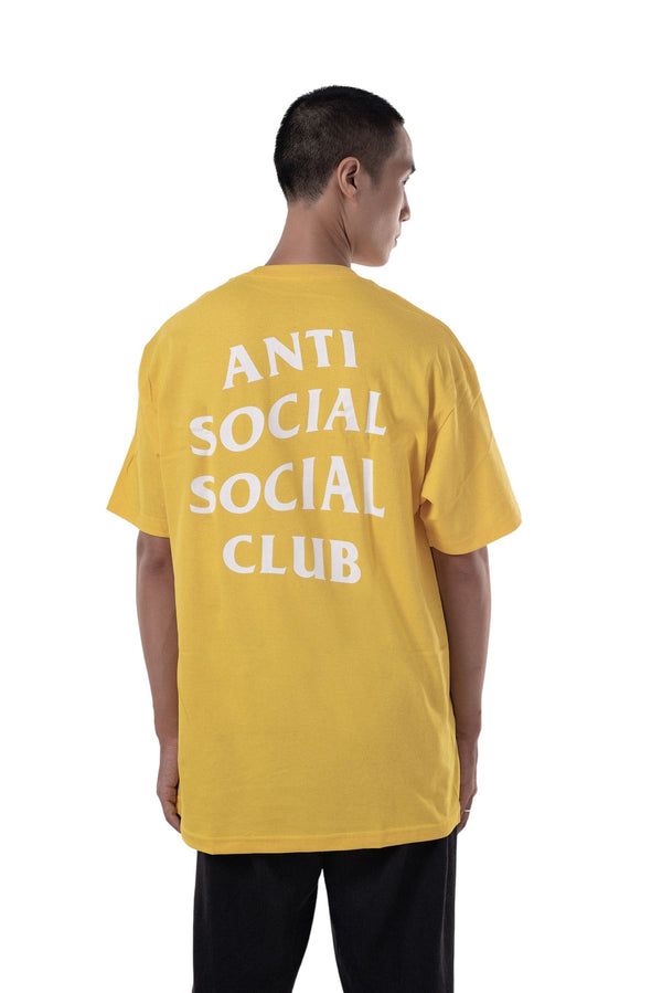 ASSC Anti Social Social Club Smile Emoji HMU Tee Yellow