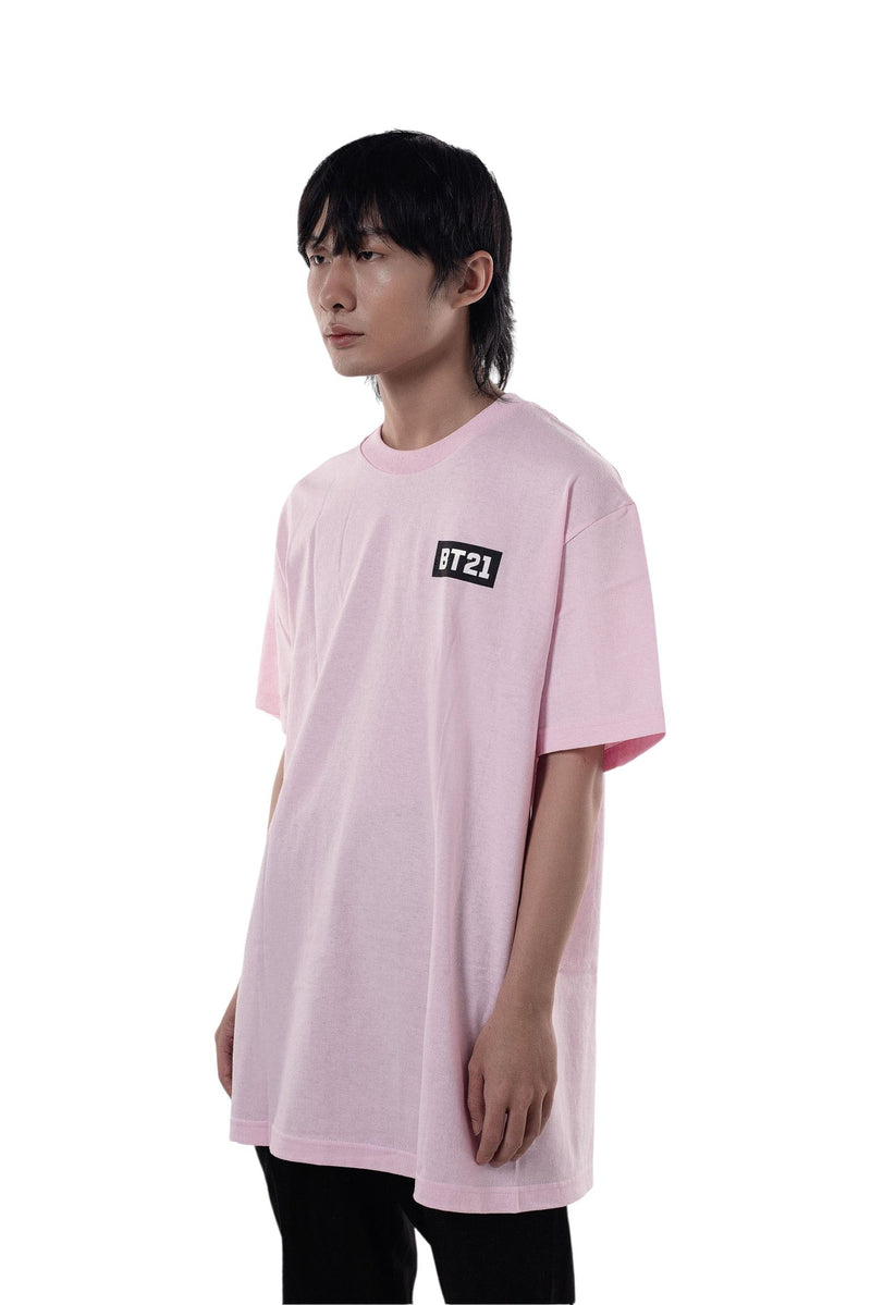 ASSC Anti Social Social Club X BT21 Blended Tee Pink