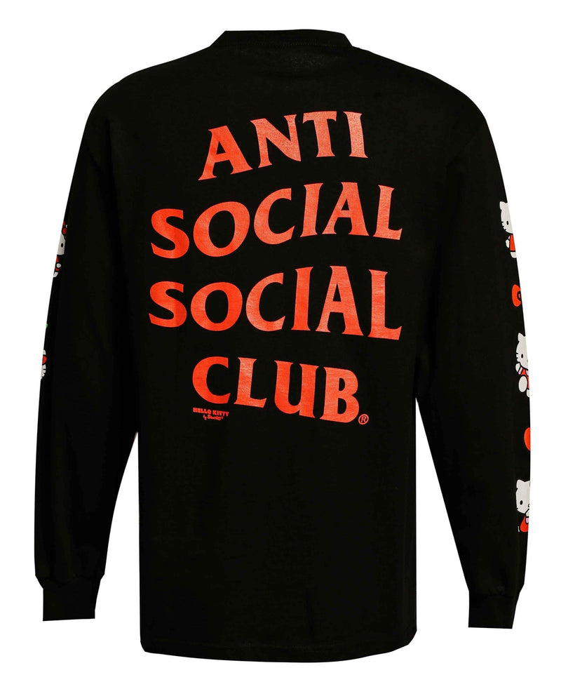 ASSC Anti Social Social Club x Hello Kitty Sweater Black