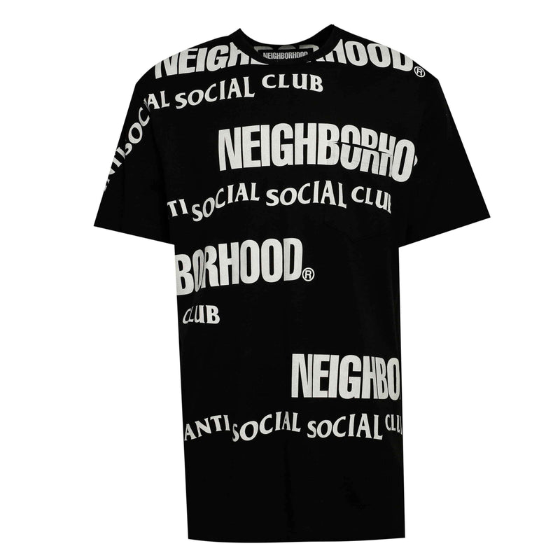 ASSC Anti Social Social Club x Neighborhood In Tears Tee Black