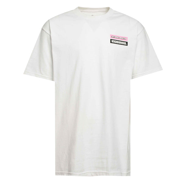 ASSC Anti Social Social Club x Neighborhood Stuck On You Tee White