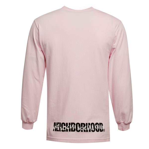 ASSC Anti Social Social Club X Neighborhood Sweater Pink