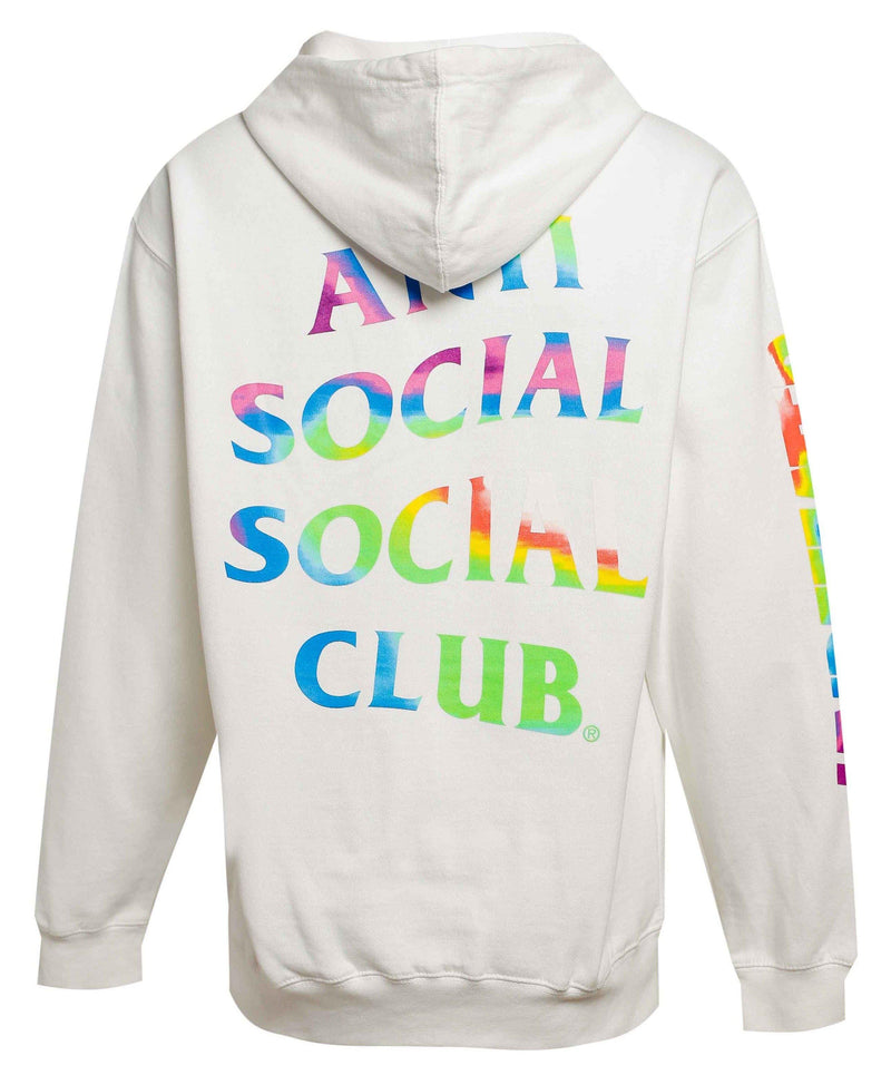 ASSC Anti Social Social Club x Undefeated Hot In Here Hoodie White