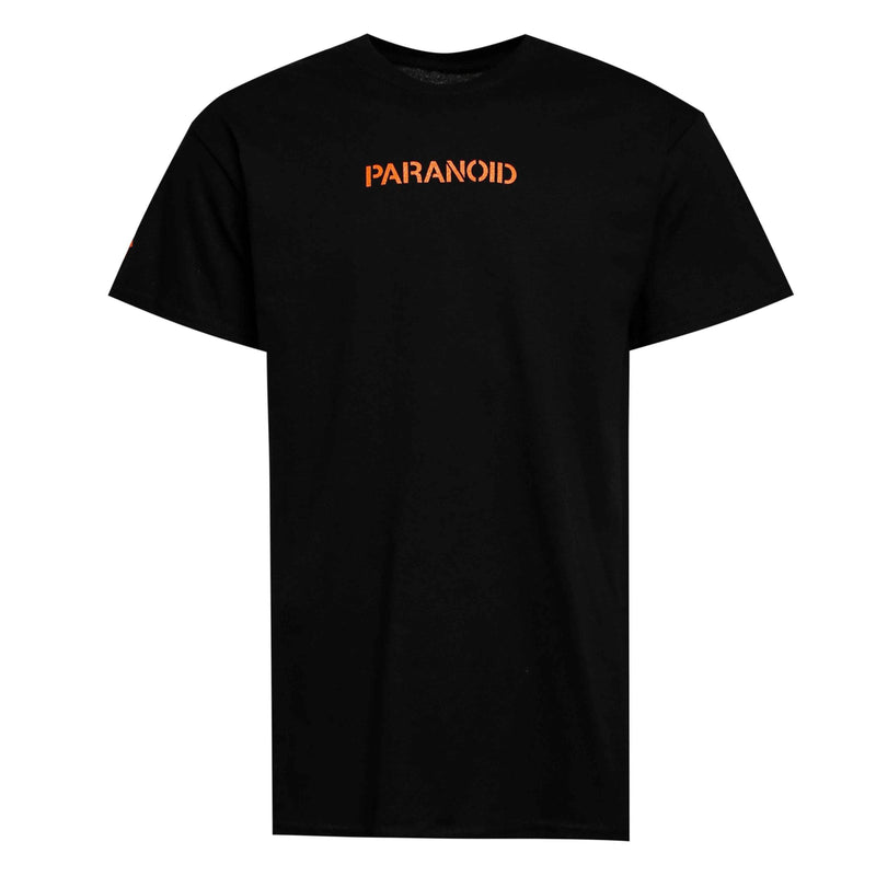 ASSC Anti Social Social Club X Undefeated Paranoid Tee Orange/Black