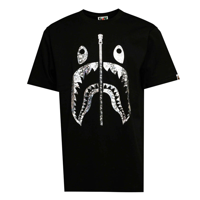 BAPE Aurora Shark Tee Black