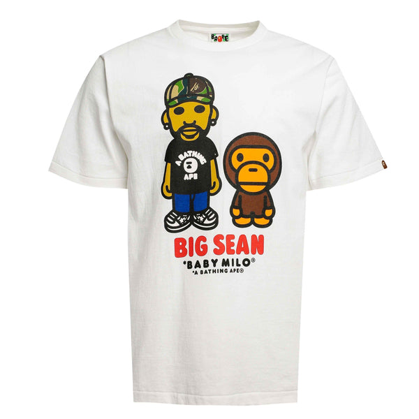 Bape Baby Milo Big Sean Tee White