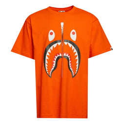 Bape Shark Tee Orange