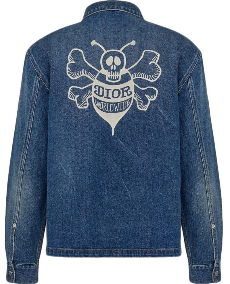 Dior Shawn Denim Overshirt